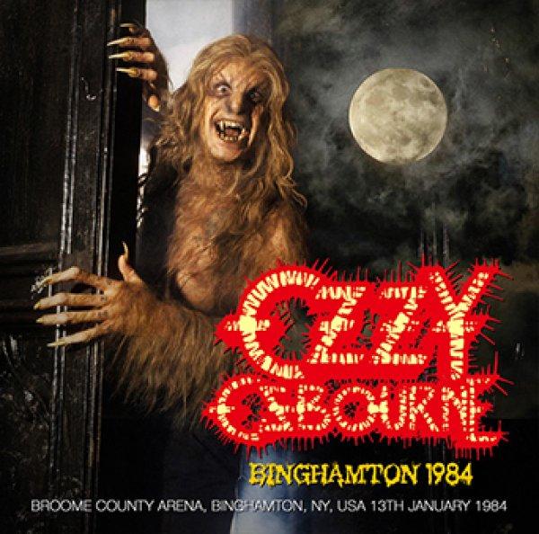 画像1: OZZY OSBOURNE - BINGHAMTON 1984(1CDR) (1)