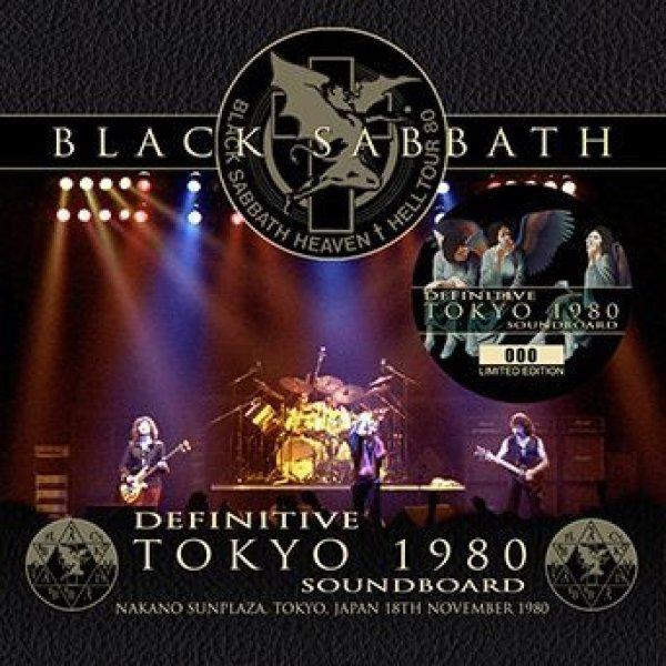 画像1: BLACK SABBATH - DEFINITIVE TOKYO 1980 SOUNDBOARD(1CD) (1)