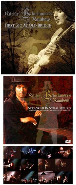 画像1: RITCHIE BLACKMORE'S RAINBOW - FIRST GIG AT OLD BRIDGE(2CDR + Bonus DVDR) (1)