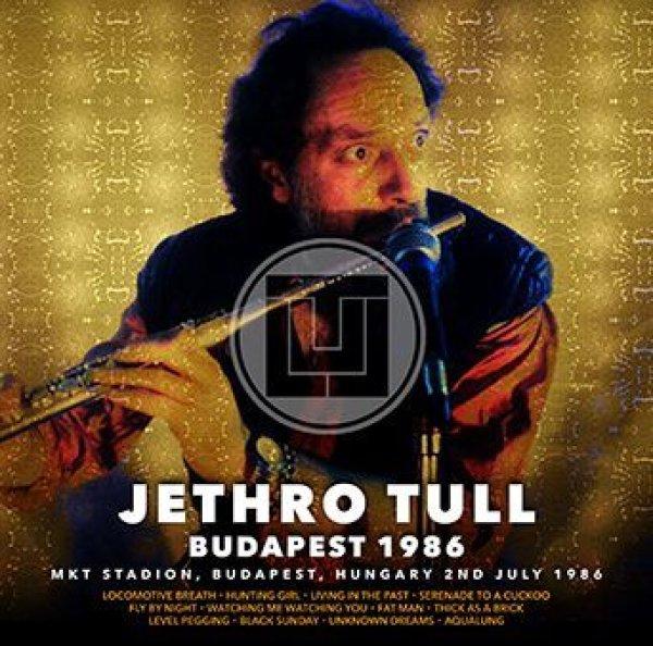 画像1: 【近日入荷】JETHRO TULL - BUDAPEST 1986(1CDR) (1)