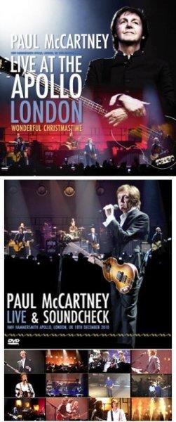 画像1: 【取り寄せ】PAUL McCARTNEY - LIVE AT THE APOLLO LONDON 2010(2CD+Ltd Bonus 2DVDR) (1)