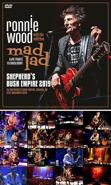 画像1: RONNIE WOOD & HIS WILD FIVE - SHEPHERD'S BUSH EMPIRE 2019(DVDR) (1)