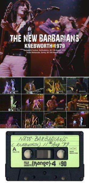 画像1: THE NEW BARBARIANS - KNEBWORTH 1979(2CDR, White Label+1DVDR) (1)