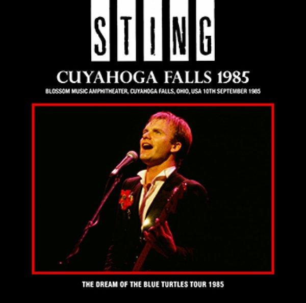 画像1: 【近日入荷】STING - CUYAHOGA FALLS 1985(2CDR) (1)