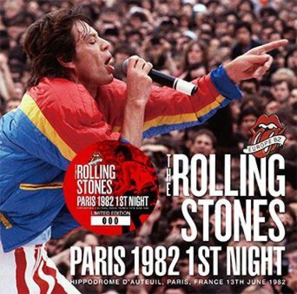 画像1: THE ROLLING STONES - PARIS 1982 1ST NIGHT(2CD) (1)
