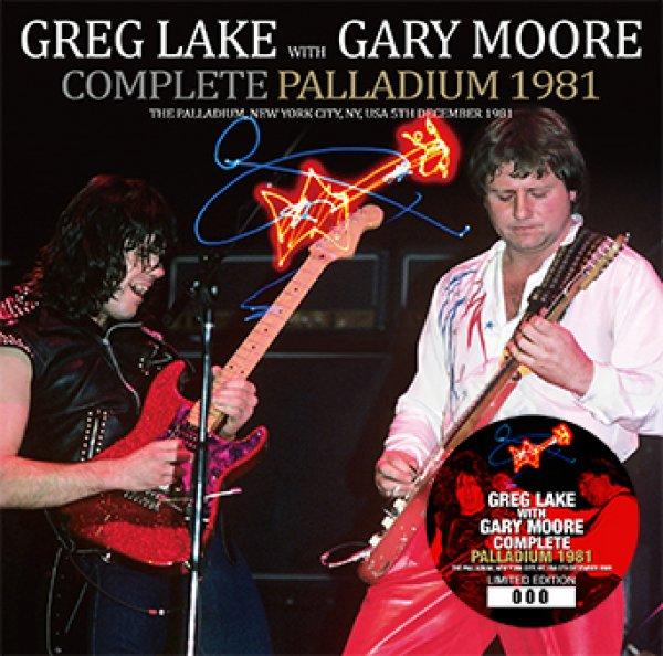 画像1: GREG LAKE with GARY MOORE - COMPLETE PALLADIUM 1981(1CD) (1)