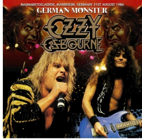 画像1: OZZY OSBOURNE - GERMAN MONSTER 1986(1CDR) (1)