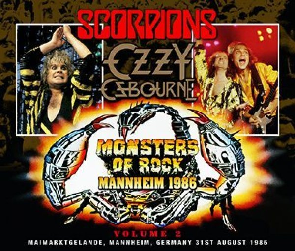 画像1: OZZY OSBOURNE/SCORPIONS - MONSTERS OF ROCK MANNHEIM 1986 VOLUME 2 (3CDR) (1)