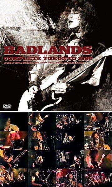 画像1: BADLANDS - COMPLETE TORONTO 1989(DVDR) (1)