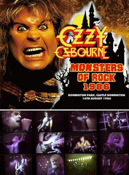 画像1: OZZY OSBOURNE - MONSTERS OF ROCK 1986(2CD+DVD) (1)