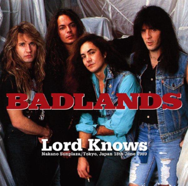 画像1: BADLANDS - LORD KNOWS: TOKYO 1989 2ND NIGHT(2CDR) (1)