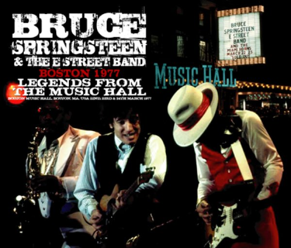 画像1: BRUCE SPRINGSTEEN & THE E STREET BAND - BOSTON 1977 : LEGENDS FROM THE MUSIC HALL(6CD) (1)