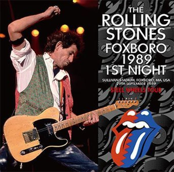 画像1: THE ROLLING STONES - FOXBORO 1989 1ST NIGHT(2CD) (1)