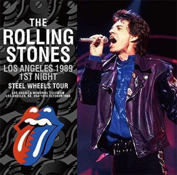 画像1: THE ROLLING STONES - LOS ANGELES 1989 1ST NIGHT(2CD) (1)