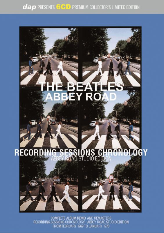 THE BEATLES - ABBEY ROAD : RECORDING SESSIONS CHRONOLOGY - ABBEY ...